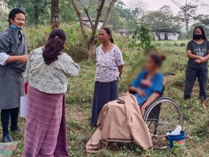 Advancing the rights of Persons with disability - Sarphang district -Bhutan - March 2021 with