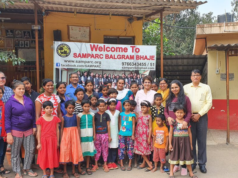 Mentoring visit to Samparc Childrens Home, Bhaje - Dec 19