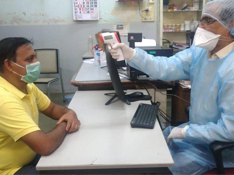 Corona warrier - Dr. Vaswani - Mumbai Clinic