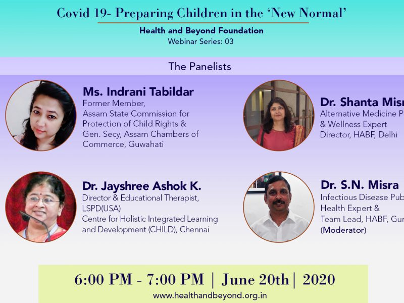 Webinar on Children in the New Normal