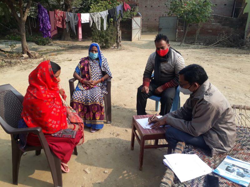 Gender study Uttar Pradesh -December 2020 - Household interviews