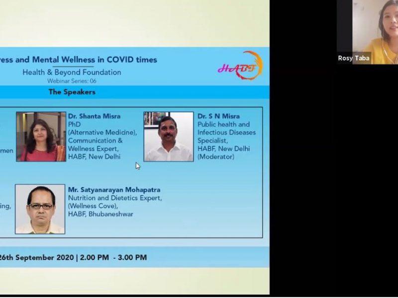 Mental Wellness - Covid Times -Arunachal Pradesh