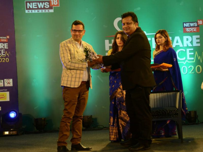 News 18 Assam Health care excellence award --Dr. Arup Jyoti Kalita as Jury Member