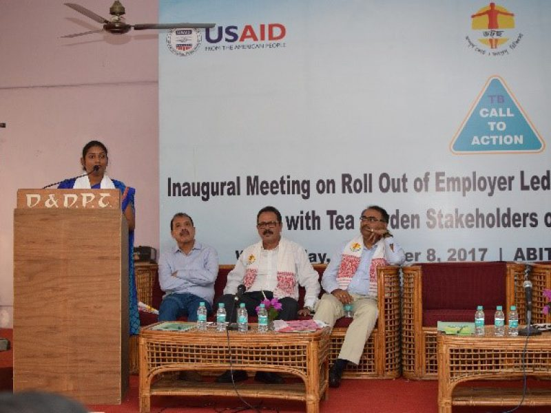 Launch of ELM for TB project in Dubrugarh, Assam
