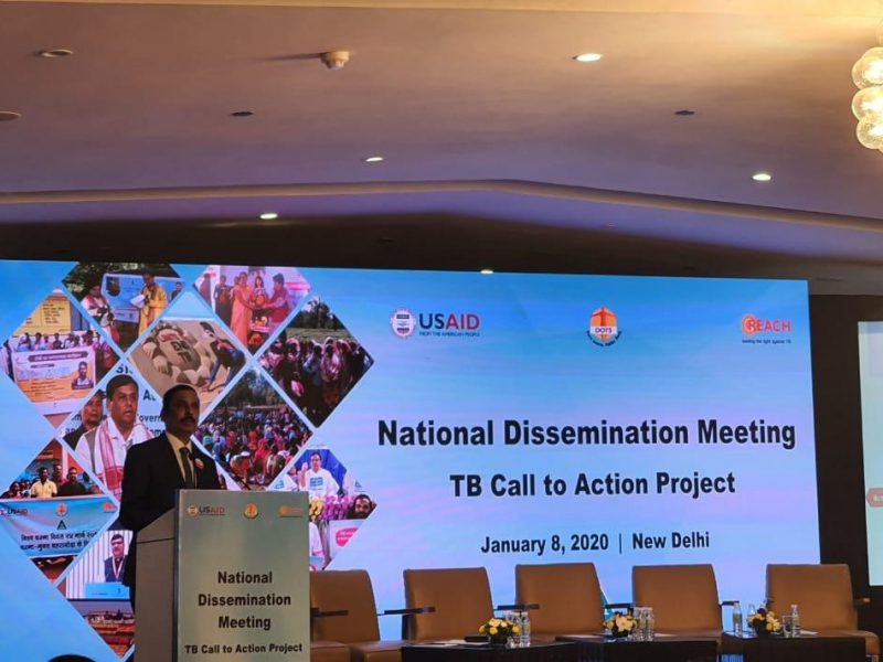 Dissemination Meeting by REACH/USAID/CTD  on ELM for TB - Jan 2020
